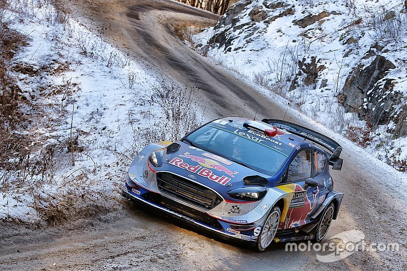 monte carlo wrc neuville suspension damage hands lead to ogier. Black Bedroom Furniture Sets. Home Design Ideas