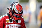 Marchionne tells Raikkonen: Prove you deserve new contract