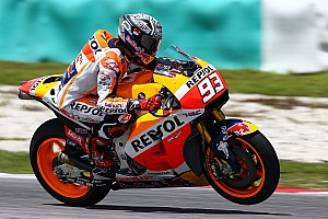 MotoGP Breaking news Marquez says Honda a second behind Yamaha