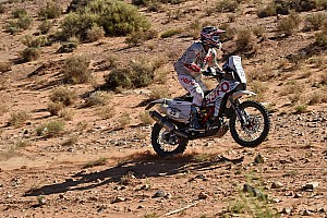 Cross-Country Rally Stage report Merzouga, Stage 5: Benavides wins as Rodrigues ends lead Hero rider
