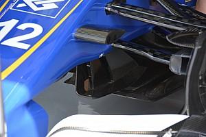 Formula 1 Analysis Bite-size tech: Sauber turning vanes and rear wing
