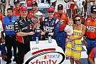 NASCAR XFINITY Kyle Busch hangs on to win again at Indianapolis