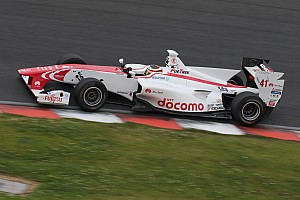 Super Formula Qualifying report Fuji Super Formula: Vandoorne scores maiden pole