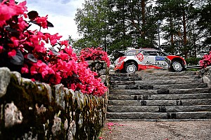 WRC Leg report Finland WRC: Meeke remains first, Ogier gets stuck