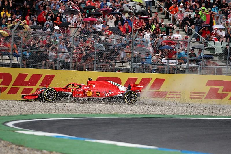 Pole para Vettel en Alemania