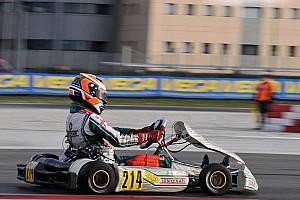 Kart Race report Travisanutto wins WSK Super Masters race at Sarno as Joyner spins