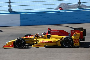 IndyCar Breaking news Honda also wary of IndyCar's domed skids