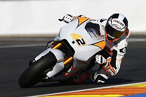 MotoGP Breaking news Rins suffers back injury after Valencia testing crash