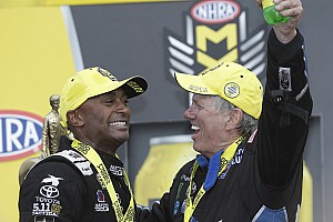 NHRA Race report Antron Brown, John Force start Countdown in winning style