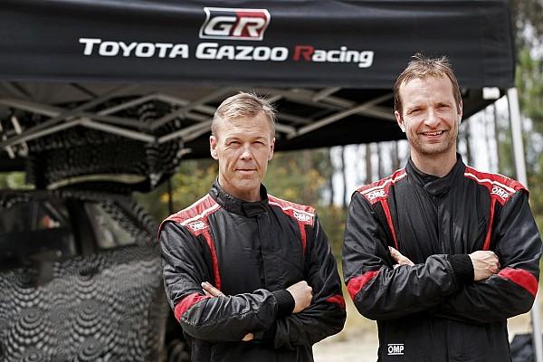 WRC Breaking news Hanninen confirmed to lead Toyota's WRC return