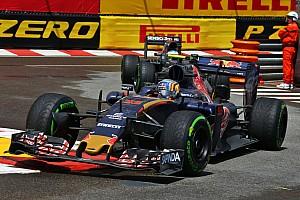 Formula 1 Race report Toro Rosso's Carlos Sainz isn't happy with his 8th place on the Monaco GP