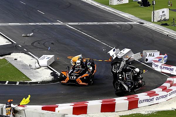 General Breaking news Wehrlein unhurt in dramatic Race Of Champions flip