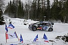 WRC Sweden WRC: Paddon closes on Ogier as Meeke crashes