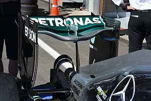 Bite-size tech: Mercedes 'spoon' rear wing