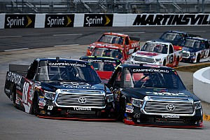 NASCAR Truck Race report Strong showing by Cameron Hayley in Martinsville