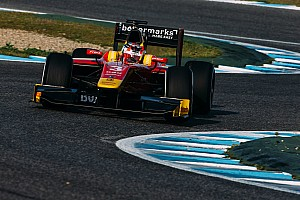 GP2 Testing report Nato completes Racing Engineering sweep of Jerez test