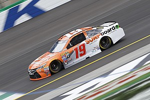 NASCAR Sprint Cup Practice report Edwards leads opening Cup practice at repaved Kentucky