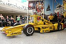 Castroneves reveals Indy livery, launches Penske display
