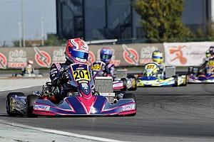 Kart Race report Basz wins thrilling European Championship opener, Watt dominates junior class