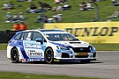 BTCC Subaru withdraws from Thruxton on safety grounds