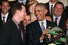 NASCAR Sprint Cup Kyle Busch meets with President Obama at the White House