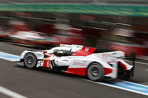 WEC Testing report Challenging opening day for Toyota Gazoo Racing