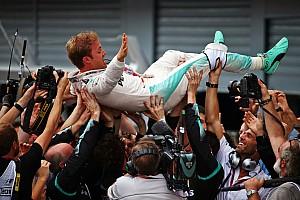 Formula 1 Race report Italian GP: Rosberg gifted Monza win as Hamilton fluffs start