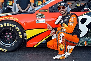 NASCAR Sprint Cup Qualifying report Truex scores pole position at Talladega