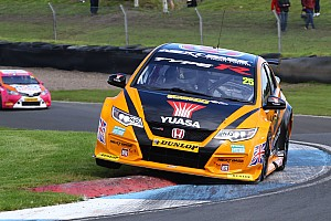 BTCC Race report Knockhill BTCC: Neal sneaks through for Race 2 win in epic battle
