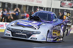 NHRA Qualifying report Beckman, Kalitta, Anderson And Sampey sprint to No. 1 qualifiers at NHRA Southern Nationals