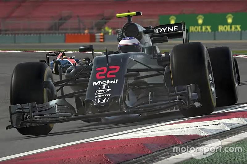 Vidéo - Le trailer du jeu F1 2016