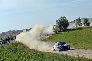WRC Leg report Poland WRC: Mikkelsen leads Paddon after Friday morning