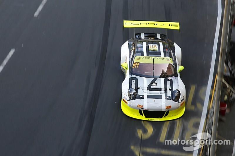 GT in Macau: Audi und Porsche dominieren 1. Training
