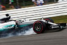 Mercedes fined for unsafe release, no sanction for Hamilton