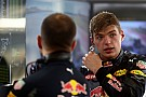 Formula 1 Verstappen: Team told me to stop where I did