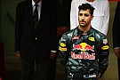 Formula 1 Red Bull reveals Ricciardo's tyres trapped at back of garage