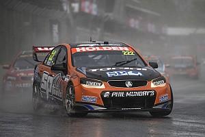 Supercars Race report Cilpsal 500 V8s: Percat wins bizarre rain-shortened race