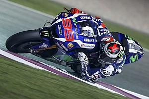 MotoGP Testing report Lorenzo dominates on final day of pre-season Qatar MotoGP test