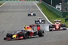 Formula 1 Verstappen's driving