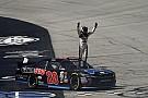 NASCAR XFINITY Erik Jones takes Xfinity win and $100,000 bonus with late pass