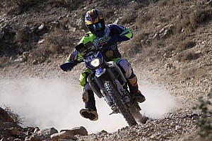 Cross-Country Rally Breaking news Aravind relieved to complete Baja Aragon in first attempt