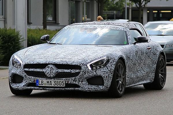 Auto Actualités Première sortie pour la Mercedes-AMG GT C Roadster