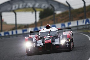 Le Mans Testing report Audi ends incident-filled Le Mans test day on top