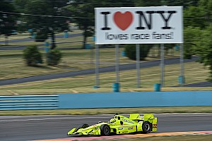"""IndyCar Testing report Drivers welcome """"physically challenging"""" Watkins Glen"""