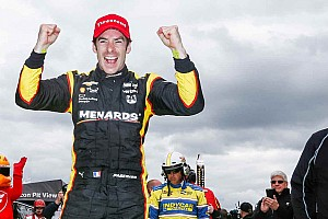 IndyCar Race report Pagenaud perfect again, scores third straight victory