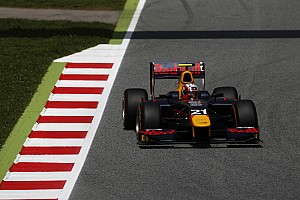 GP2 Qualifying report Barcelona GP2: Gasly beats Nato for first pole of 2016