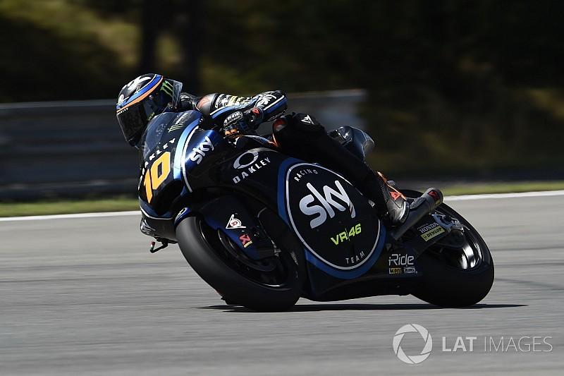 Moto2 Brno, Qualifiche: La prima pole position di Luca Marini