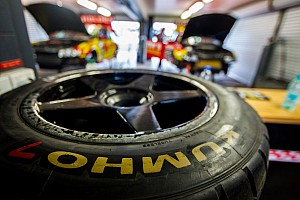 Supercars Breaking news Kumho developing 18-inch Supercars tyre