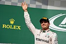 Formula 1 F1 title is Rosberg's to lose, says Horner