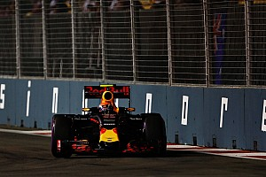 Formula 1 Practice report Singapore GP: Verstappen leads Red Bull 1-2 in FP1, Rosberg crashes